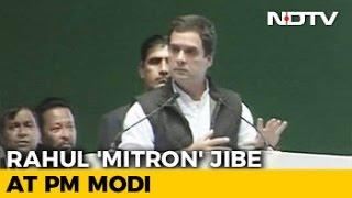 Mitron And Achche Din In Rahul Gandhis Attack On PM Narendra Modi