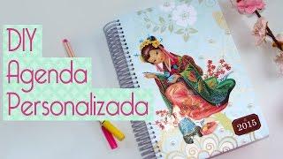 DIY Como Fazer Agenda Personalizada Scrapbook By Tamy
