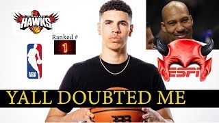 """Lamelo Finally Getting Respect. Lavar """"I told you so!"""""""