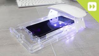 WhiteStone Dome Galaxy S9 / S9 Plus Glass Screen Protector Installation Guide & Review