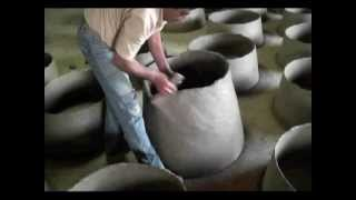 How a Portuguese Wood Fired Clay Oven is Made