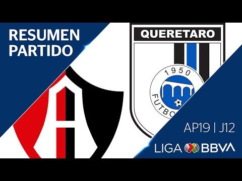Resumen y Goles | Atlas vs Querétaro | Jornada 12 - Apertura 2019 | Liga BBVA MX