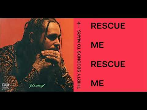 Post Malone VS 30 Seconds To Mars - Rescue Me, I Fall Apart (MASHUP) - Kill_mR_DJ Mashups