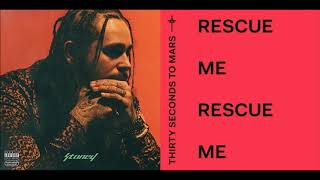 Post Malone VS 30 Seconds To Mars   Rescue Me, I Fall Apart (MASHUP)
