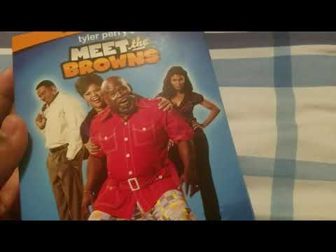 Tyler Perry's Meet The Browns season 1 dvd unboxing
