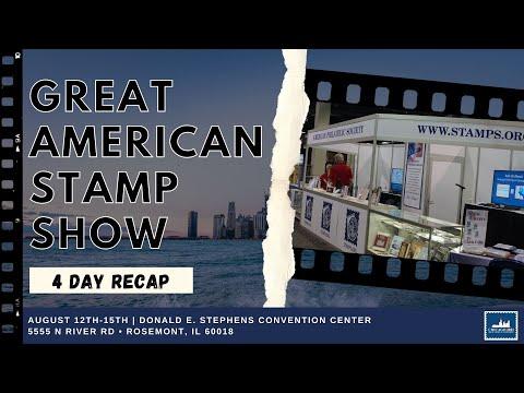 Great American Stamp Show 2021 Recap