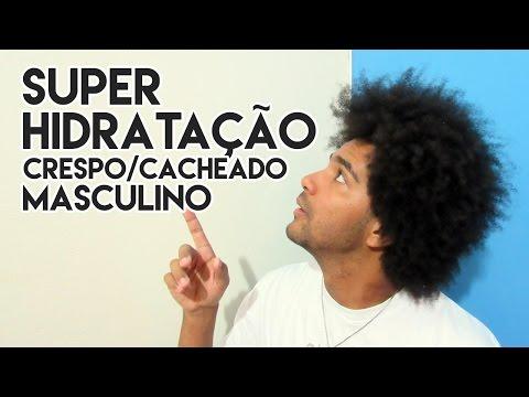 SUPER HIDRATAÇÃO CABELO CRESPO/CACHEADO MASCULINO