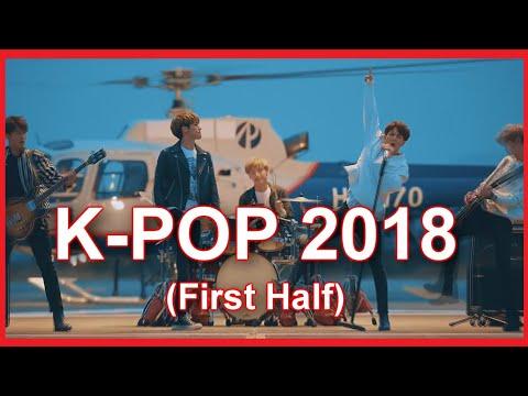 My Top 100 K-pop songs of 2018 (First Half)