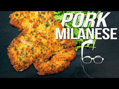 THE BEST PORK RECIPE YOU'VE NEVER HAD – PORK MILANESE   SAM THE COOKING GUY 4K
