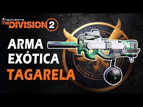 THE DIVISION 2 - Arma Exótica TAGARELA - Como Pegar Ela!