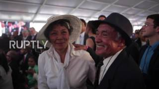 Mexico: 3,400 couples get married in mass wedding ceremony