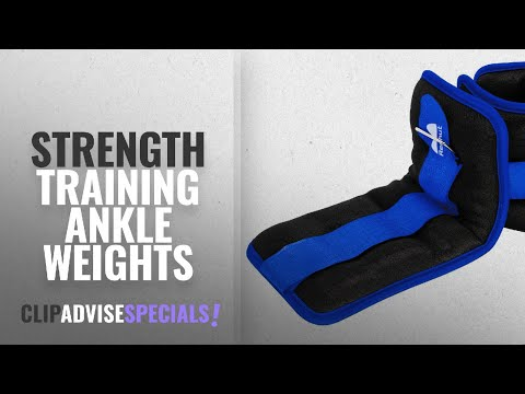 10 Best Strength Training Ankle Weights : REEHUT Ankle Weights, Durable Wrist Weight (1 Pair)
