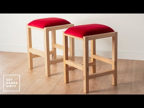 How to Make a Stool // 2 Different Methods