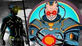 ТИТАН БЛИЗОК #3 мультик для детей игра Shadow Fight 2 бой с тенью видео для детей от FGTV