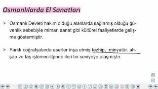 Eğitim Vadisi 10.Sınıf Tarih 12.Föy Beylikten Devlete Osmanlı Medeniyeti, Fetihle Gelen Dönüşüm Konu Anlatım Videoları