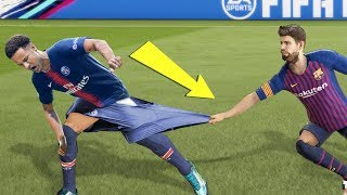 САМЫЕ СМЕШНЫЕ БАГИ И ГЛЮКИ FIFA 19