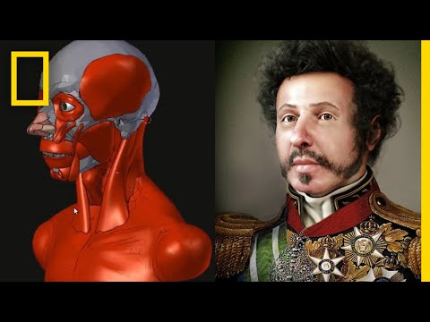 Brazil's First Emperor Face Reconstructed By an Artist | National Geographic