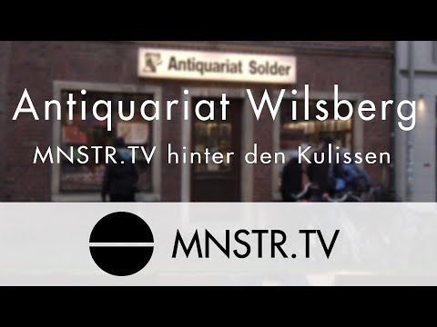 Antiquariat Wilsberg | MNSTR.TV