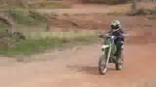preview picture of video 'Abi72 Race in Segamat  KX65 vs KX85 vs CRF150'