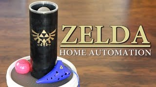 Zelda Ocarina Controlled Home Automation - Zelda: Ocarina of Time   Sufficiently Advanced