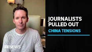 'It felt very, very political': ABC reporter Bill Birtles leaves China over safety fears   ABC News