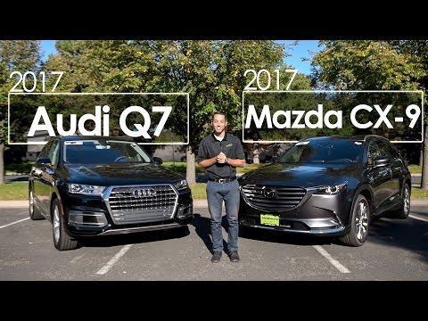 mazda dealership does 2017 cx 9 vs 2017 audi q7. Black Bedroom Furniture Sets. Home Design Ideas