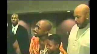 Last Day footage of Tupac Shakur, backstage at  Mike Tyson fight 96