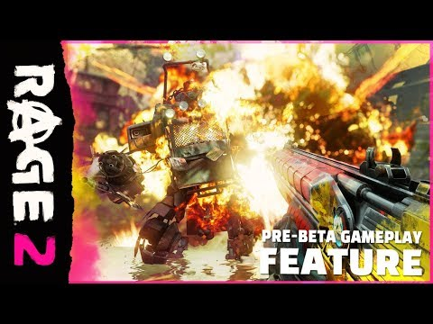 RAGE 2: 9 Minutes of New Pre-Beta Gameplay (2019) thumbnail