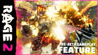 RAGE 2: 9 Minutes of New Pre-Beta Gameplay (2019)
