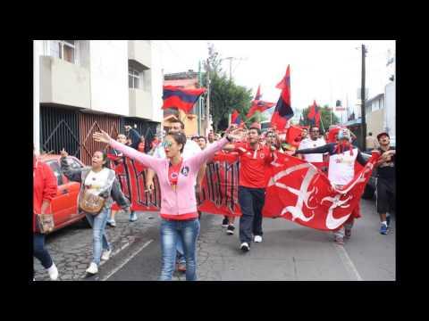 """""""Una calle me separa, Tiburones rojos de veracruz, Barra caballeros."""" Barra: Guardia Roja • Club: Tiburones Rojos de Veracruz"""