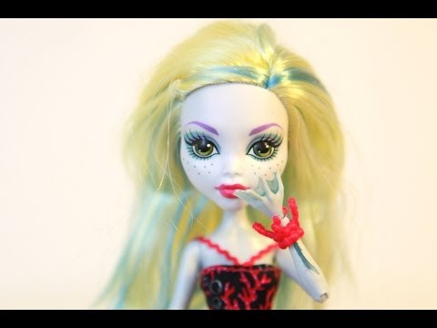 Mattel Monster High Lagoona Blue Barbie Doll Toy 2013  REVIEW Ballet Dancing