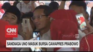 Sandiaga Uno Masuk Bursa Cawapres Prabowo