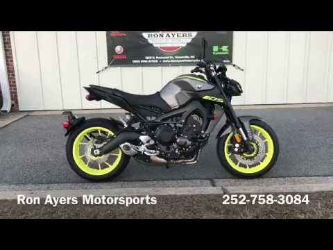2018 Yamaha MT-09 in Greenville, North Carolina