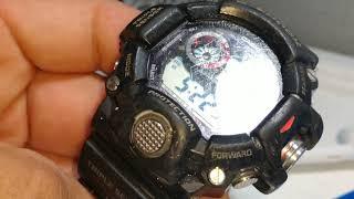 Casio G-Shock Rangeman restoration