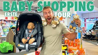 Unsere erste BABY SHOPPING TOUR I EINKAUF IM BABYFACHMARKT