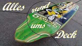 Longboard Decks: Top Mount - Concave - Flex - etc. | Tutorial | Longboarding Germany