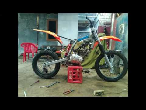 Video jupiter mx 135 modifikasi