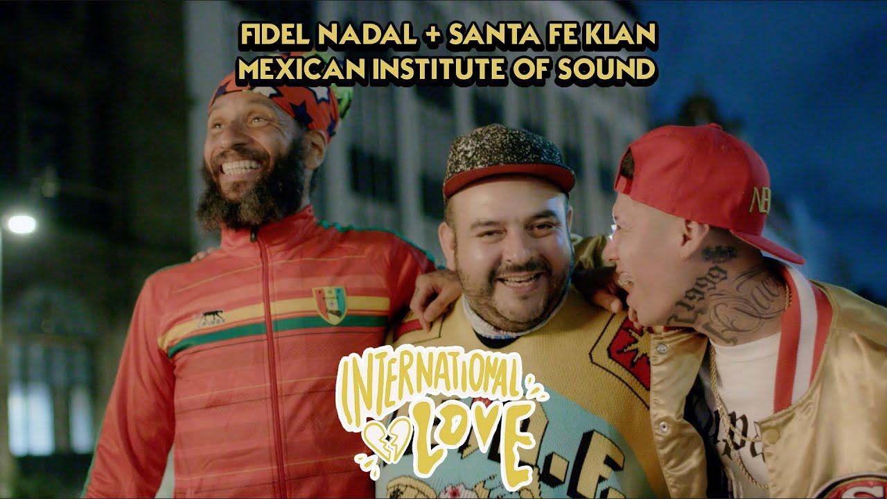 Fidel Nadal se une a dos enormes talentos para dar vida a una nueva y vibrante versión de su clásico International Love.