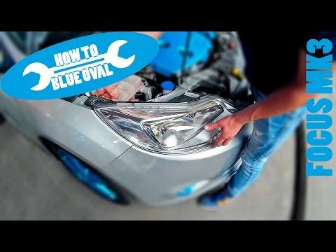 Anleitung: Ford Focus Mk3 (DYB, Bj. 11-14) Scheinwerfer tauschen / wechseln - Einbau & Ausbau