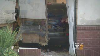 SUV Crashes Into Chase Bank