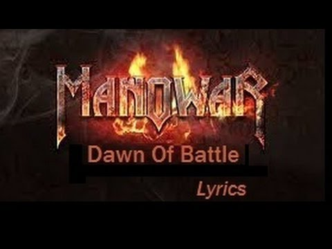 Manowar - Dawn Of Battle Lyrics