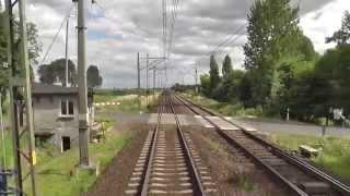 preview picture of video 'Odcinek Inowrocław - Bydgoszcz Główna - Linia kolejowa nr 131 - Węglówka'