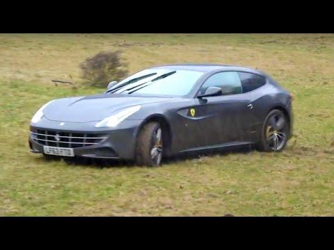Ferrari FF Off-roading!