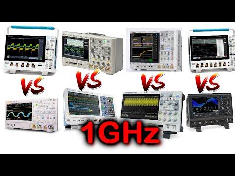 EEVblog #1218 - 1GHz Oscilloscope Spec Shootout