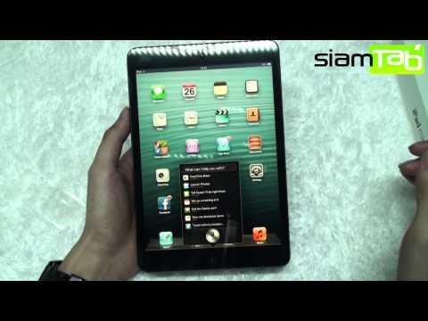 รีวิว iPad Mini ตัวเล็ก สเปคเลย