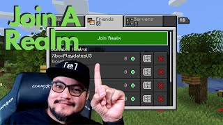 How to join a Minecraft Realm   How to invite your friends to a Minecraft Realm @Scratch Plays