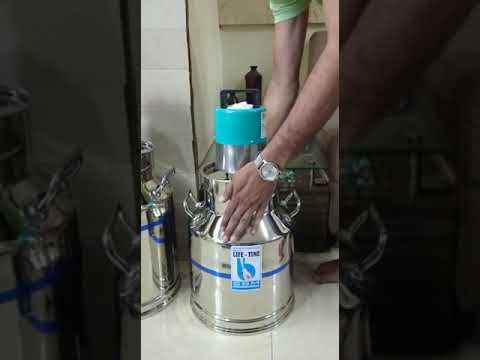 Stainless Steel Milk Can with Motor