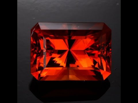 Vivid Color Orange Sunstone from Oregan 10.99 Carats