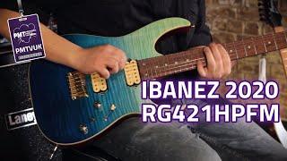 New Ibanez RG421 HPFM RG Electric Guitar Blue Reef Gradation...