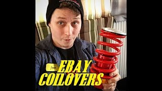 Ebay coil overs review and install